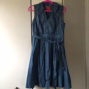 ModCloth sleeveless shirt dress
